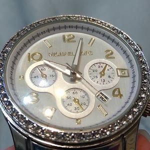 Michael Kors Accessories - Michael Kors MK 5076 Watch New Battery Crystals